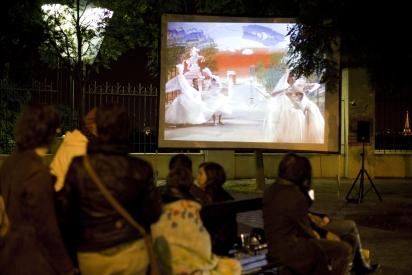 Projection cinéma par l'association Belleville en Vue(s)
