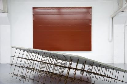 """Vues de l'exposition """"Slidesss"""" au Lieu Commun"""